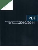 Memoria Investigacion 2010 2011