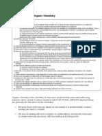 F322 Organic Molecules - Basics