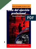 Etica Del Ejercicio Profesional