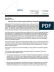PRC Issues Advisory Opinion Analyzing USPS Plan to Change Service Standards