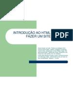 INTRODUÇÃO AO HTML - COMO FAZER UM SITE