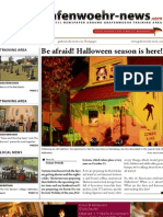 grafenwoehr-news.com // Issue #8 // September - October 2012 // English