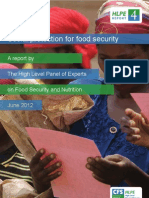 HLPE Report 4 - Social Protection for Food Security - June 2012