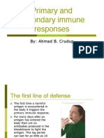Prim Secon Immune Responses
