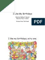 I Like My Birthdays