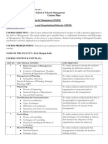 MPOB Course Plan