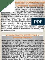 ENFERMEDADES CONGÉNITAS Y DE ORIGEN GENÉTICO. bueno