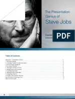 Presentation Genius of Steve Jobs