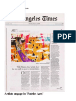 La Times Review Patriot Acts