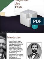14 Management Principles by Henri Fayol PRESENTATION