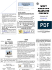 Church Newsletter - 30 September 2012