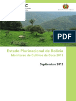 Bolivia Coca Survey Spanish 2012 Web