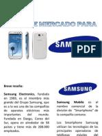 Tipos de mercado Samsung Smartphone Andrés Utrera