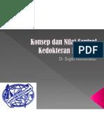 Konsep Dan Nilai Sentral Kedokteran Keluarga - Dr. Sugito Wonodirekso (PDKI)