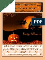 Samhain Halloween 2012 Enchanted Forest Magazine