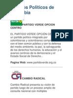 Partidos Politicos de Colombia