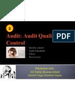 2 Audit Quality Control