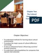 Cultural Evts Facing Business