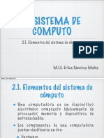 2. Sistemas de Computo