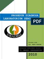 Prosedur Diagnosa Laboratorium Serologis