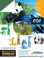 Fun Animals Dental Disposable Prophy Promo