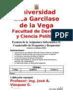 Examen Info II2004 1B
