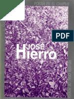 Jose Hierro Trabajos