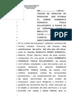 Cecion de Derecho Rodolfo Peres Pimentel