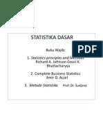 materi ajar Statistika.dasar