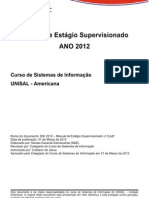 BSI 2012 - Manual de Estagio Supervisionado v1.5