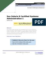 310-011 Solaris 8 Systems Administration I