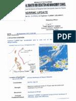 NDRRMC SWB No.33 (Final) Re Typhoon Lawin