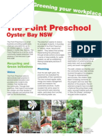 Doc 249 Case Study the Point Preschool