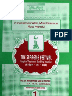 The Supreme Festival by - Dr.Muhammad Masoud Ahmad