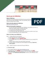How to Pay via CIMB Clicks