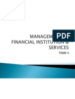 Management of Financial Institution & Services(Reviewed)