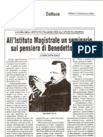 Etica e Politica Oggi in L'Irpinia,10/09/1994
