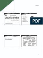 Análise térmica em polímeros (1)