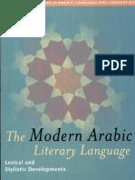 The Modern Arabic Literary Language