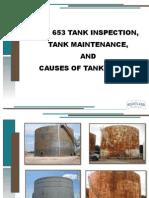 API 653 Tank Insp. reqmt