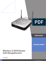 Cisco Wireless-G VPN Router (WRV200)
