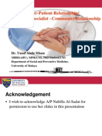 Doctor Patientrelationshipyusufmisau 100119172848 Phpapp01