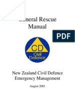 NZ General Rescue Manual 2001 197p