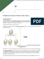 WebSphere Concepts