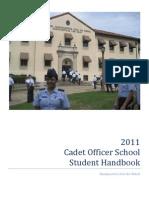 Cadet Officer School Guide (2011)