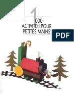 MANUALIDADES - Niños - 1000 actividades para las pequeñas manos
