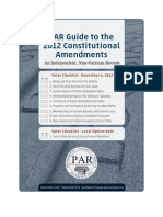 2012 Constitutional Amendments PAR