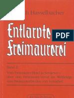 Hasselbacher, Friedrich - Entlarvte Freimaurerei - Band II