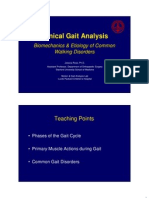 Clinical Gait Analysis