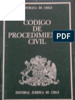 Codigo de Procedimiento Civil Edicion Enero 2008
